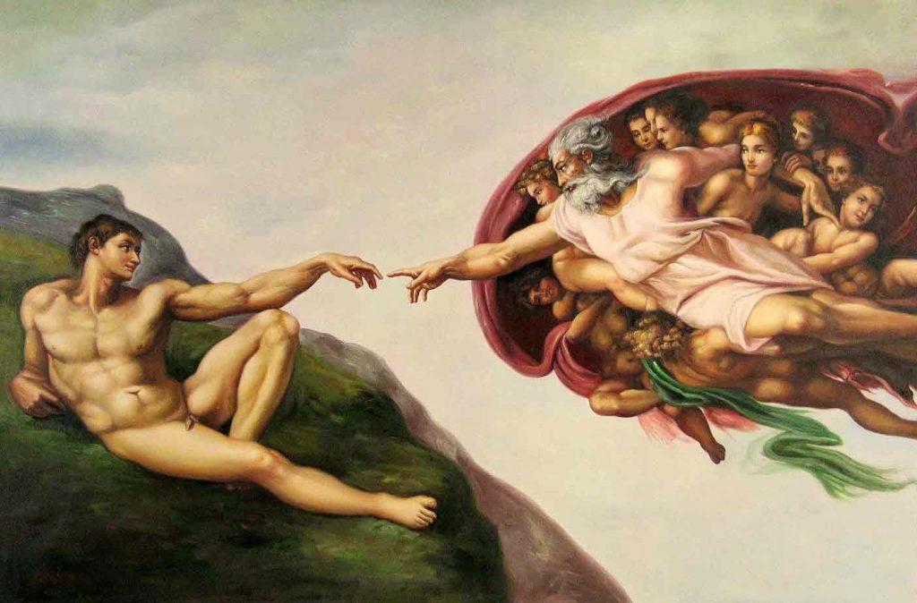 21 # Michelangelo Buonarroti – Η Δημιουργία του Αδάμ [The Creation Of Adam, 1508-12]