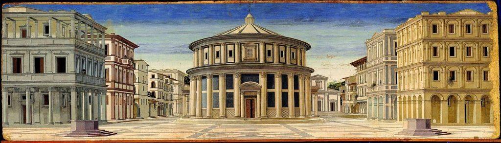 Luciano Laurana ή Melozzo da Forli – Ιδεατή Πόλη [Ideal City, 1470]