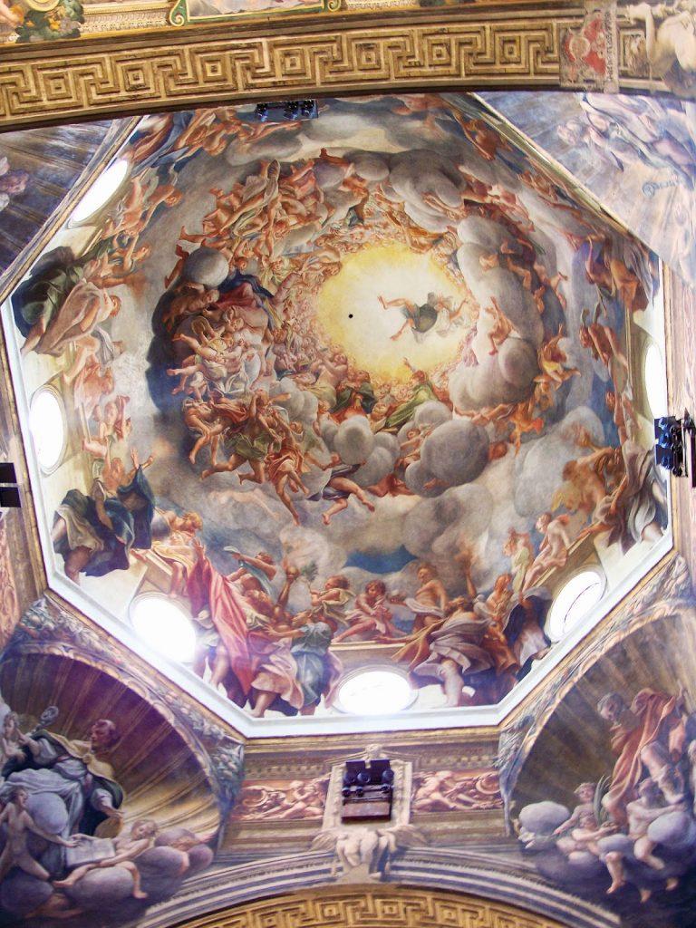Correggio – H Ανάληψη της Παρθένου [Assumption of the Virgin, 1522-30]