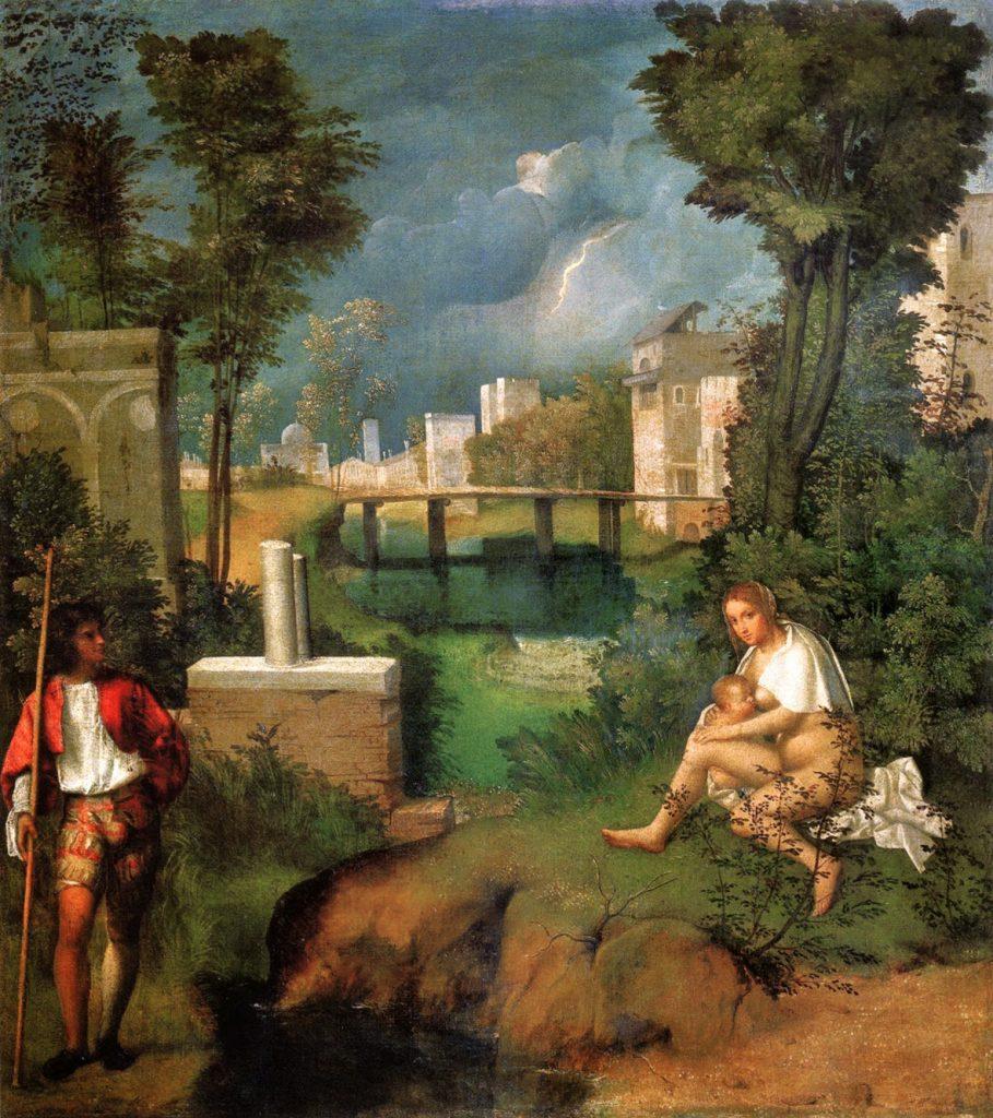 Giorgione – Η Καταιγίδα [The Tempest, 1506]