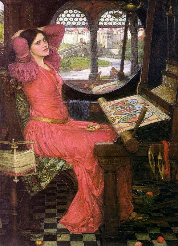 John William Waterhouse - I am half sick of shadows, said the lady of shalott