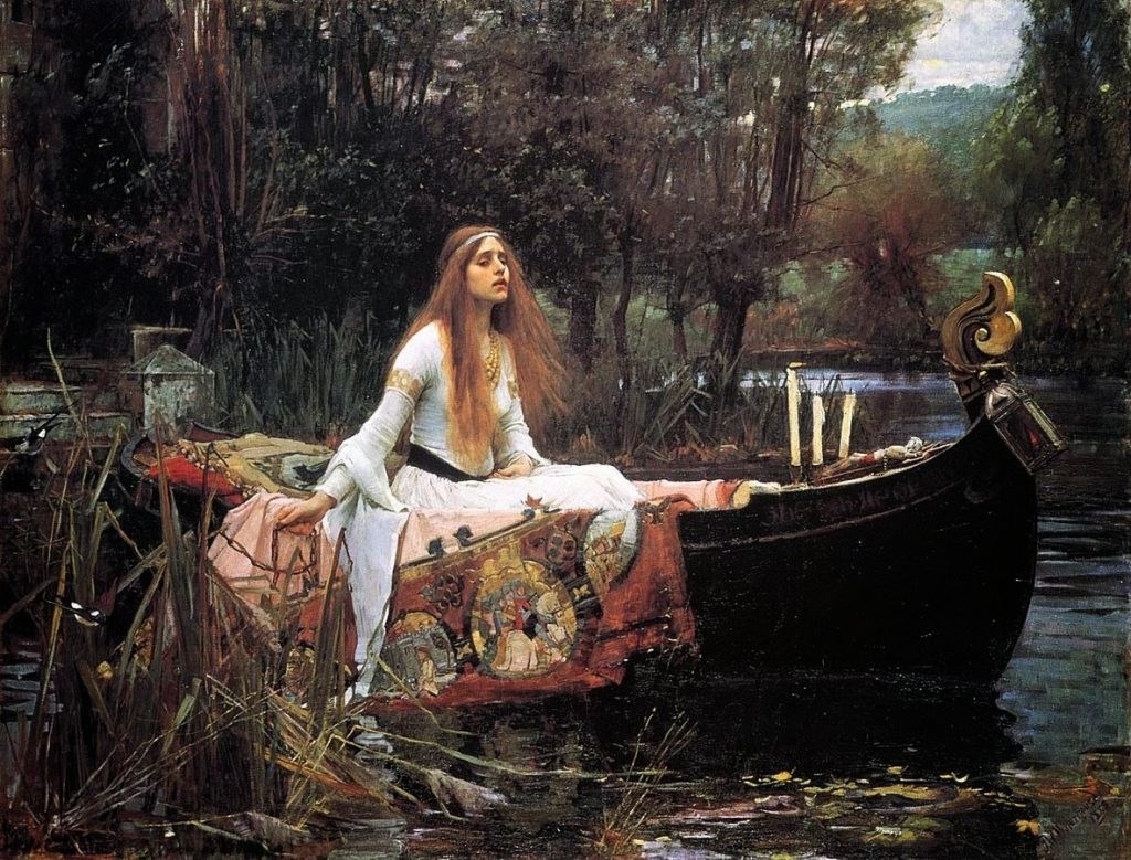 John Williams Waterhouse - The Lady of Shalott