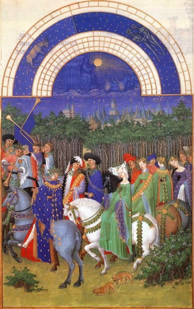 Limbourg Brothers – Μάιος [May, γύρω στο 1410]