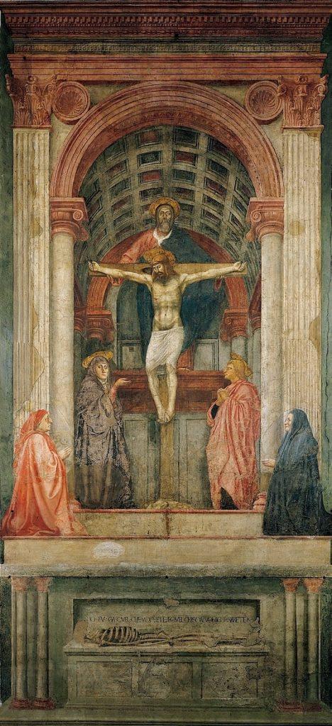 Masaccio – Η Αγία Τριάδα [The Holy Trinity, 1425-28]
