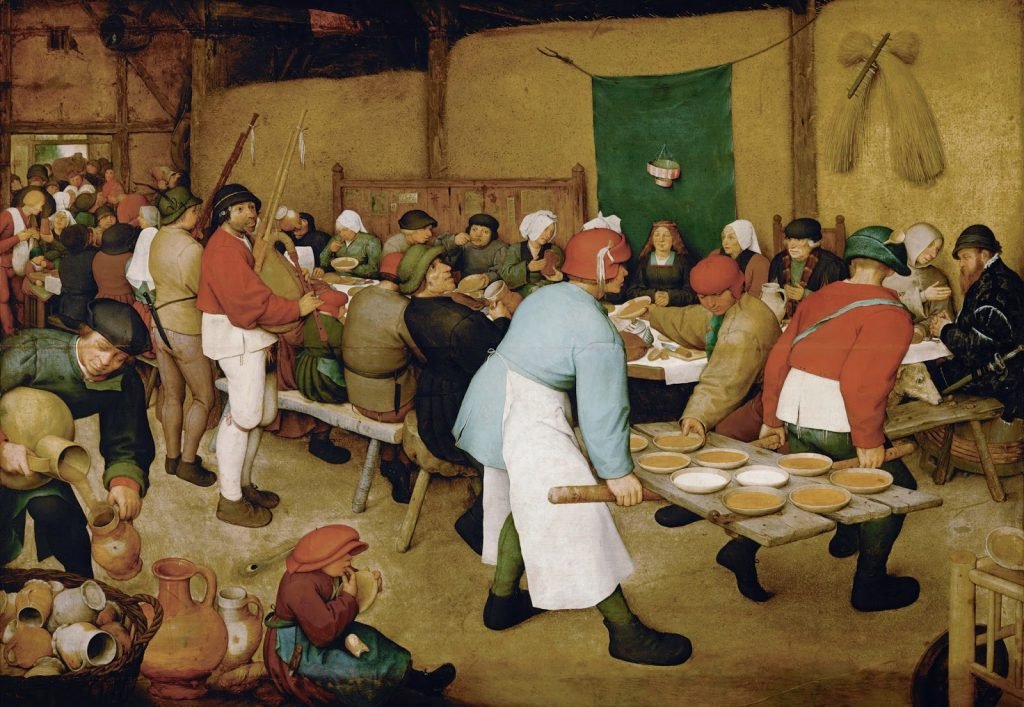 Pieter Bruegel the Elder – Ο Γάμος των Χωρικών [The Peasant Wedding, 1567]