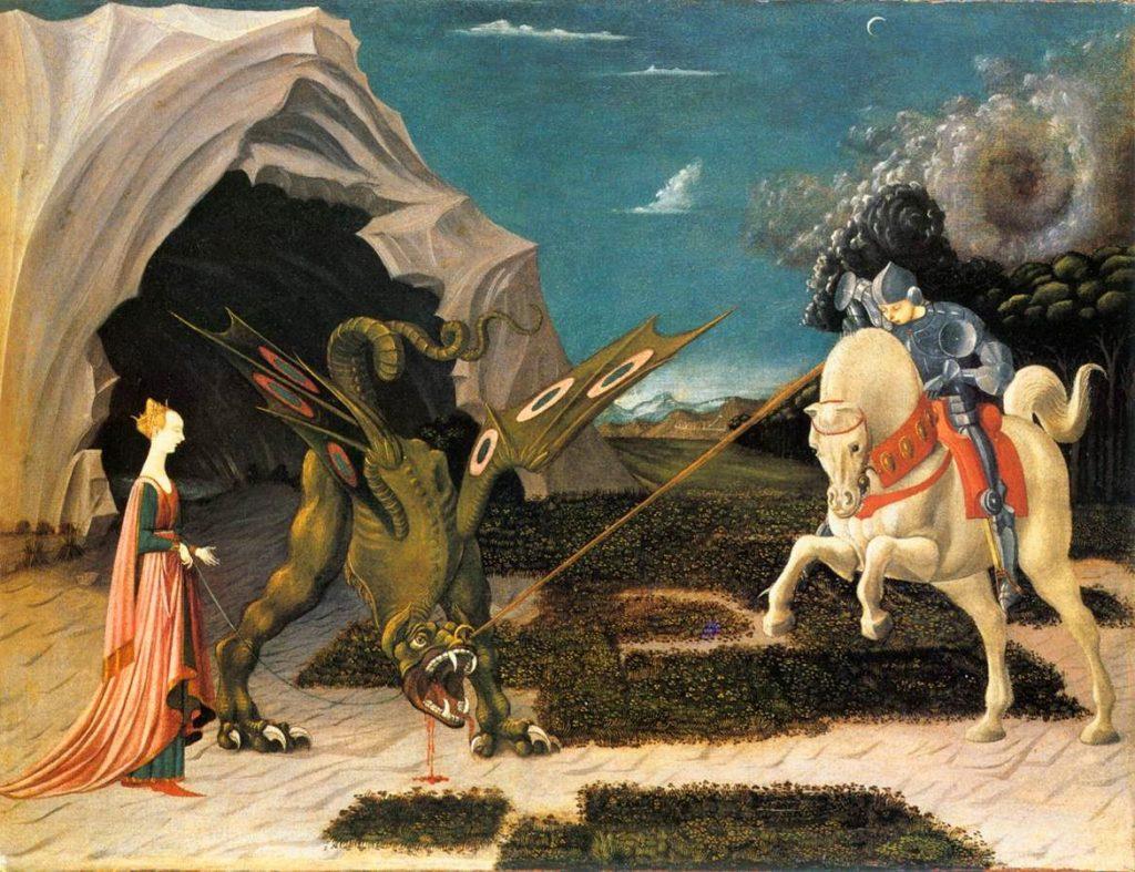 Paolo Uccello – Ο Άγιος Γεώργιος και ο Δράκος [Saint George And The Dragon, 1456]