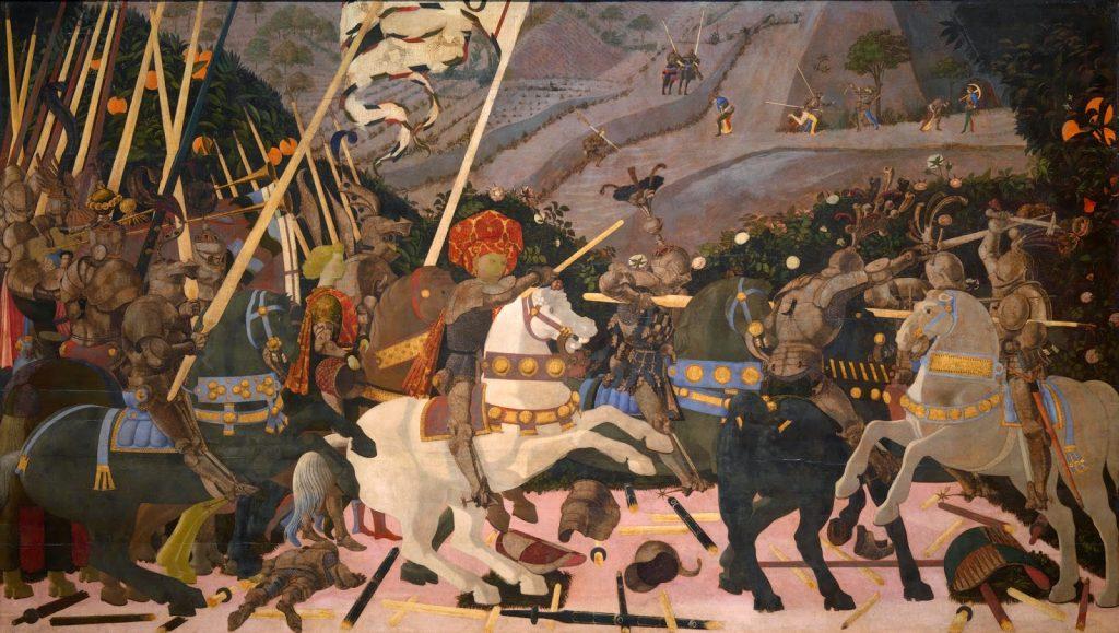 Paolo Uccello – Η Μάχη του Σαν Ρομάνο [The Battle Of San Romano, περίπου 1438-1440]