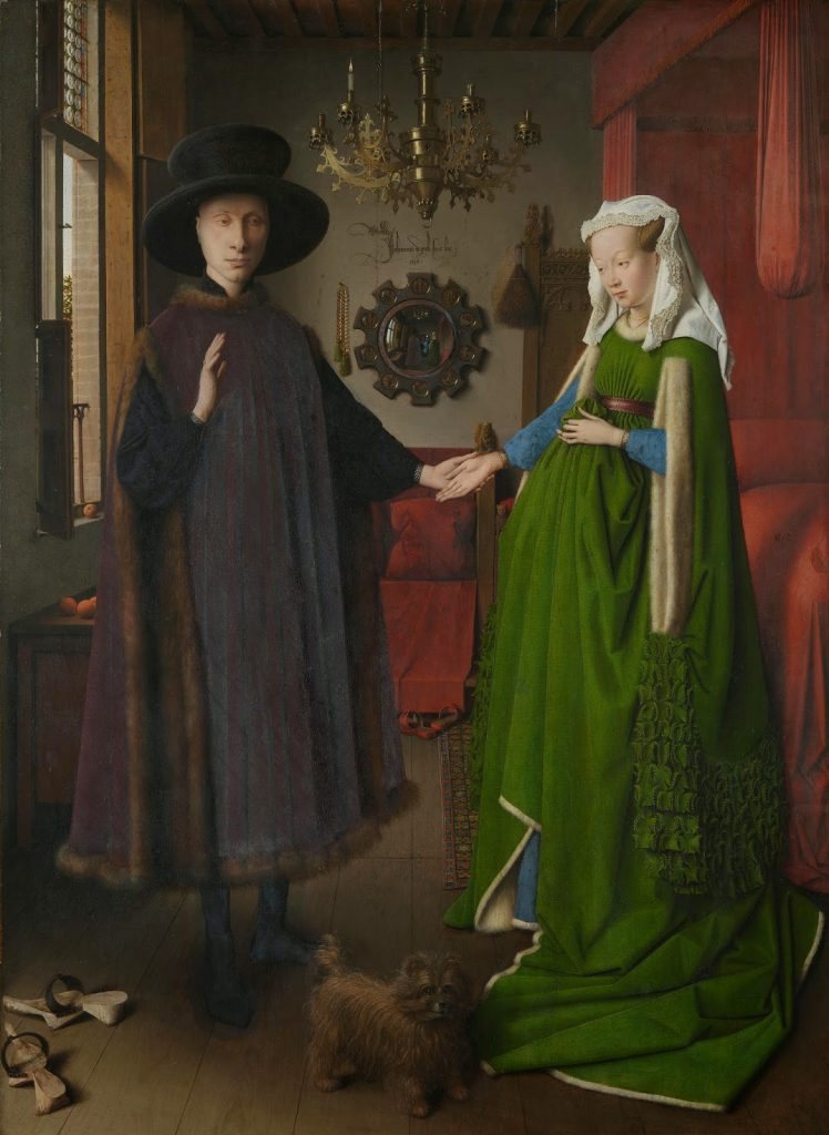 Jan van Eyck – Πορτραίτο των Αρνολφίνι [The Arnolfini Portrait, 1434]