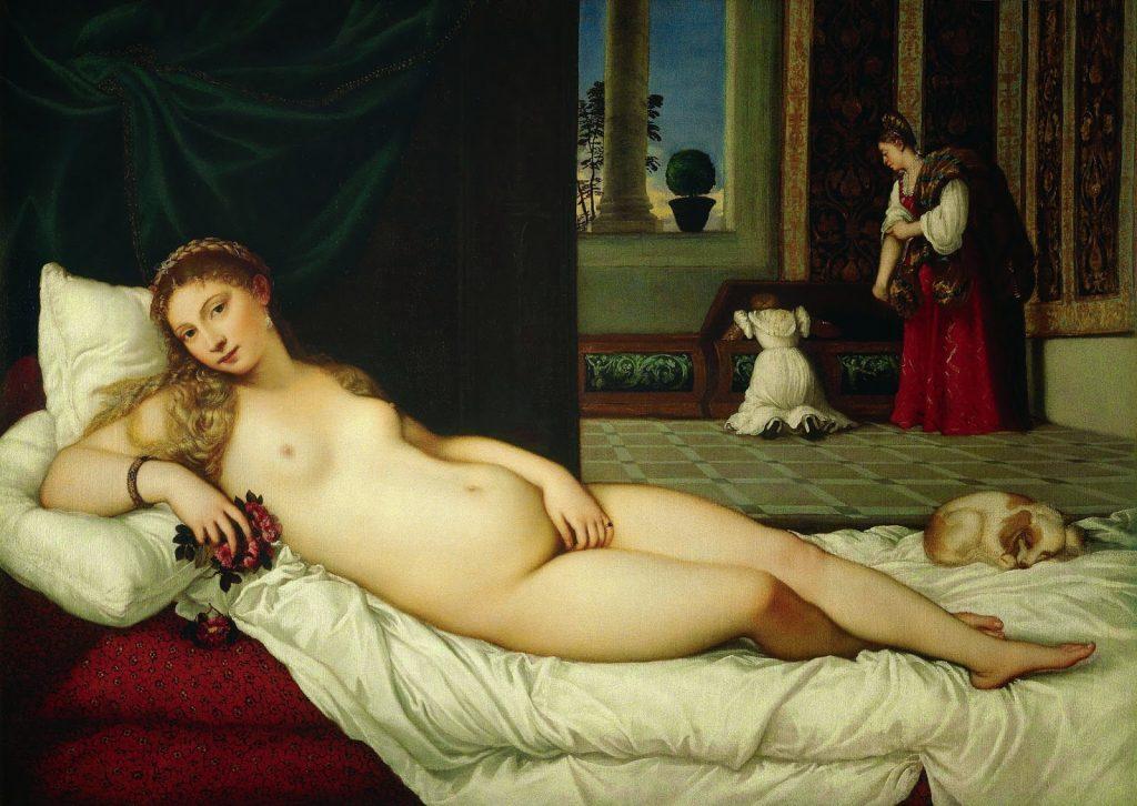 Titian – Η Αφροδίτη του Ουρμπίνο [Venus Of Urbino, 1538]