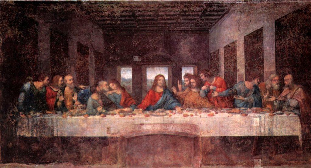 Leonardo da Vinci – Ο Μυστικός Δείπνος [The Last Supper, 1495-97]