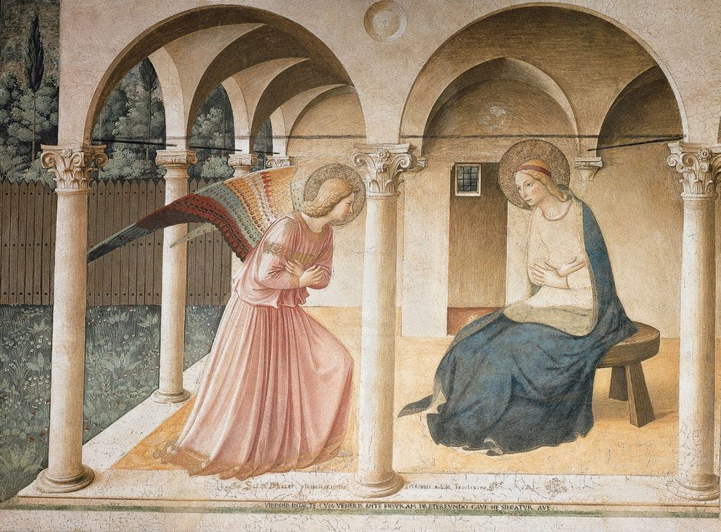 Fra Angelico – Ο Ευαγγελισμός της Θεοτόκου [The Annunciation, περίπου 1450]