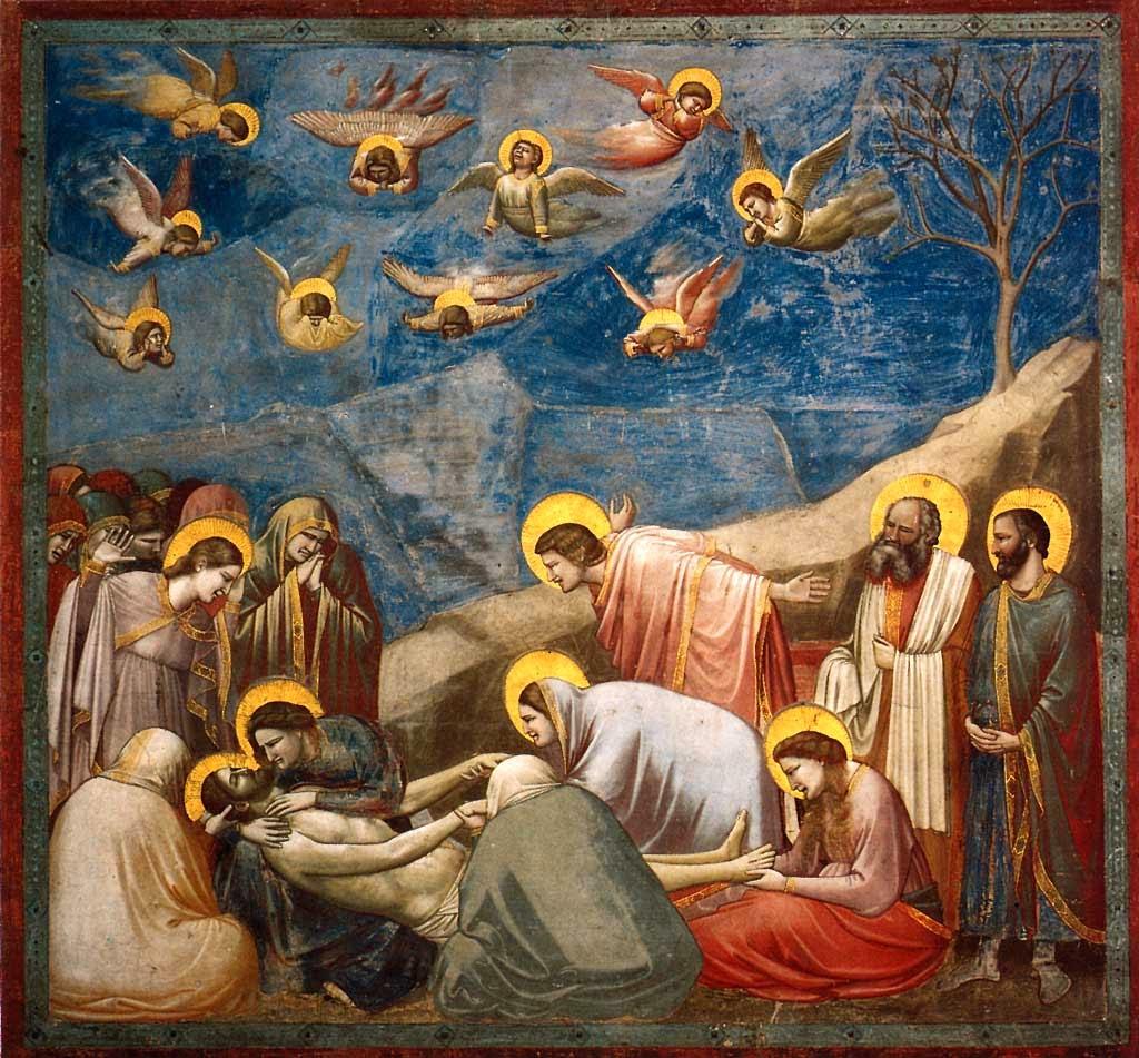 Giotto - Ο Επιτάφιος Θρήνος [The Lamentation of Christ, 1303-05]
