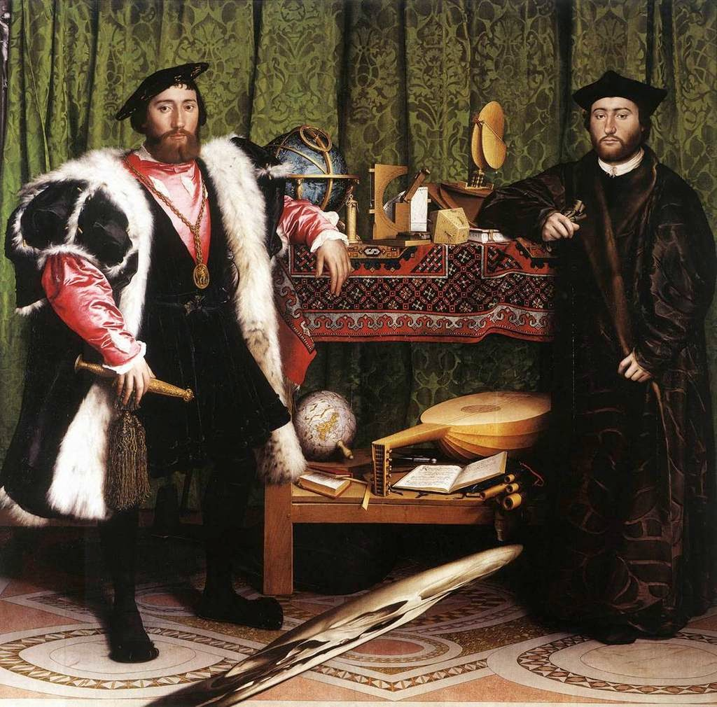 Hans Holbein the Younger – Οι Πρέσβεις [The Ambassadors, 1533]