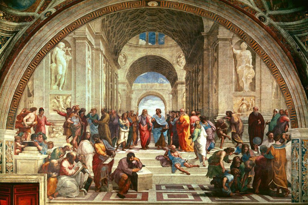 Raphael - Η Σχολή των Αθηνών [The School of Athens, 1510]