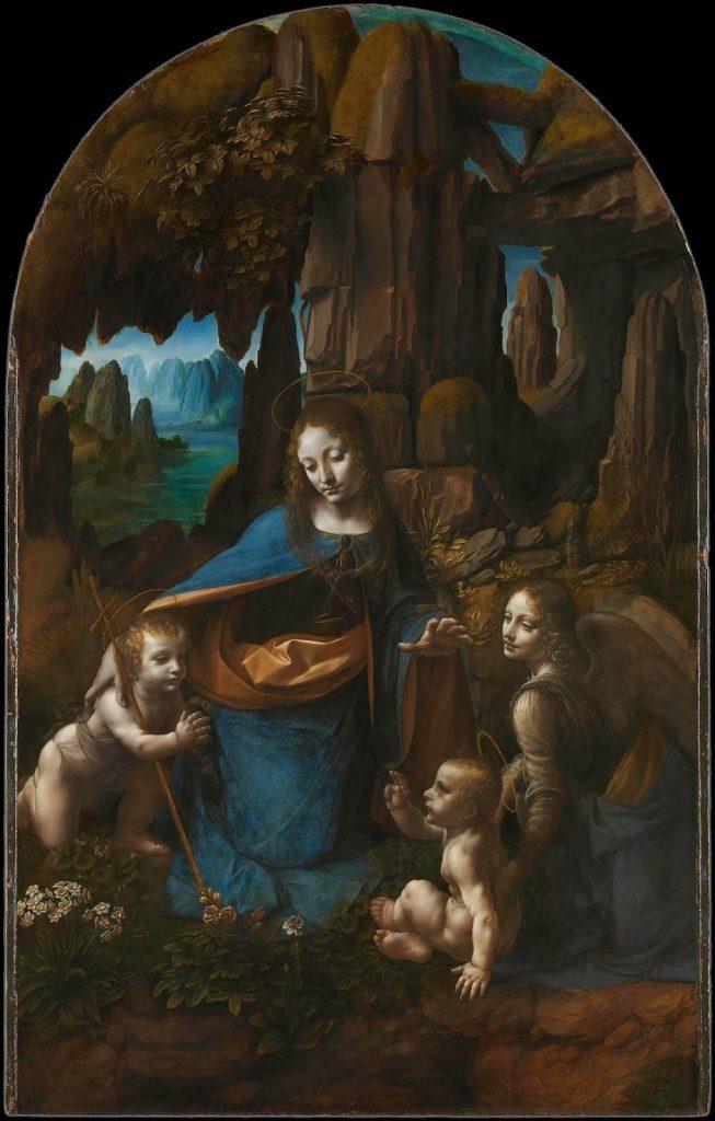 Leonardo da Vinci - Η Παρθένος των Βράχων [The Virgin of the Rocks, 1491-1508]