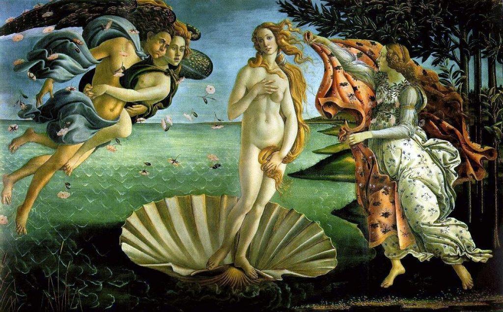 Sandro Boticelli – Η Γέννηση της Αφροδίτης [The Birth Of Venus, 1485]