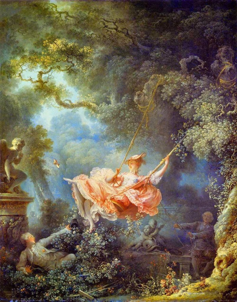 Jean-Honore Fragonard – The Swing [L'Escarpolette, 1767]