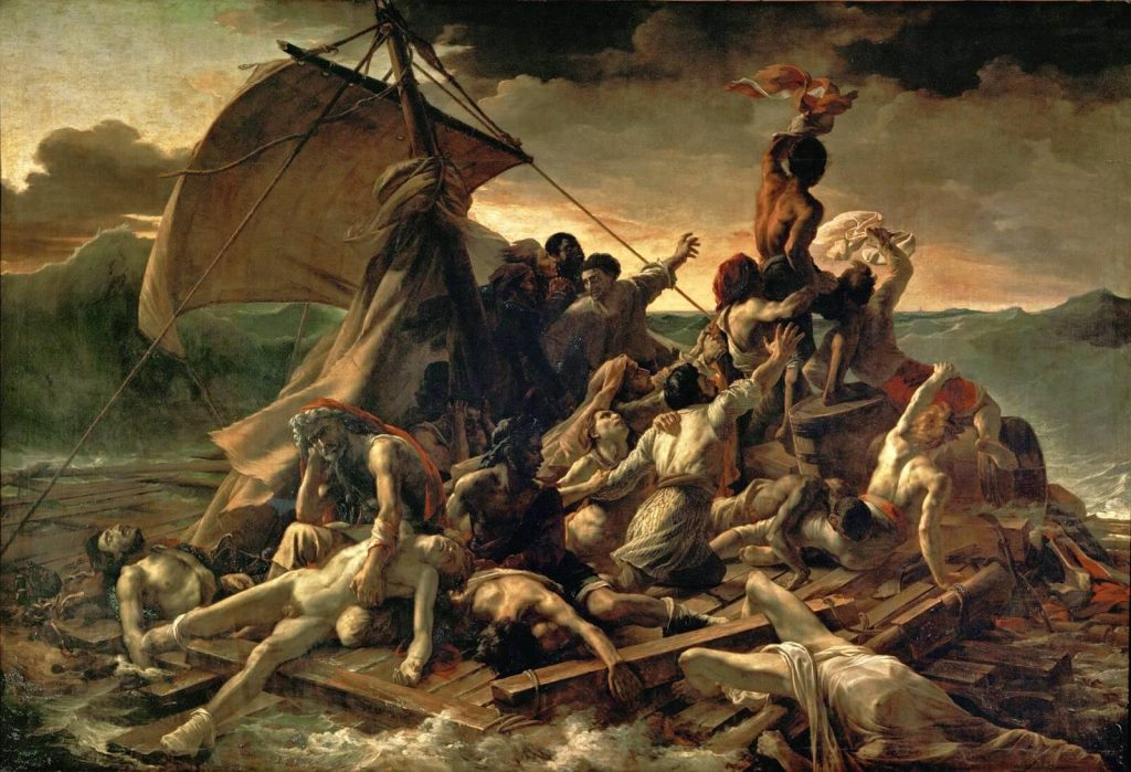 Theodore Gericault – The Raft Of The Medusa [Le Radeau de la Méduse, 1818]