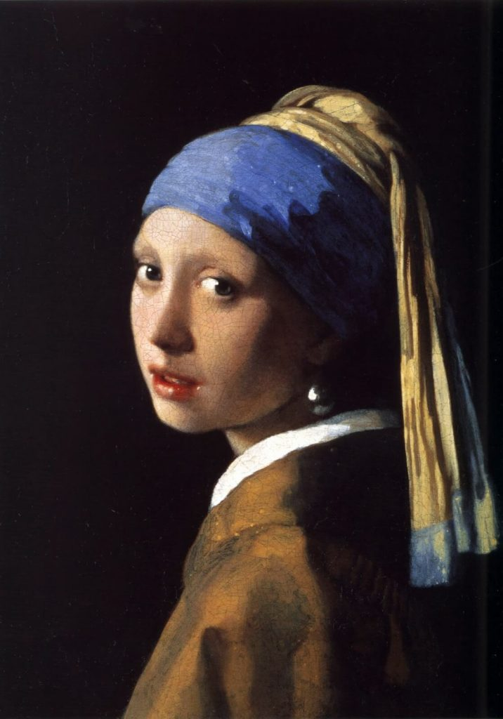 Johannes Vermeer – The Girl with the Pearl Earring [Meisje met de parel, 1665]