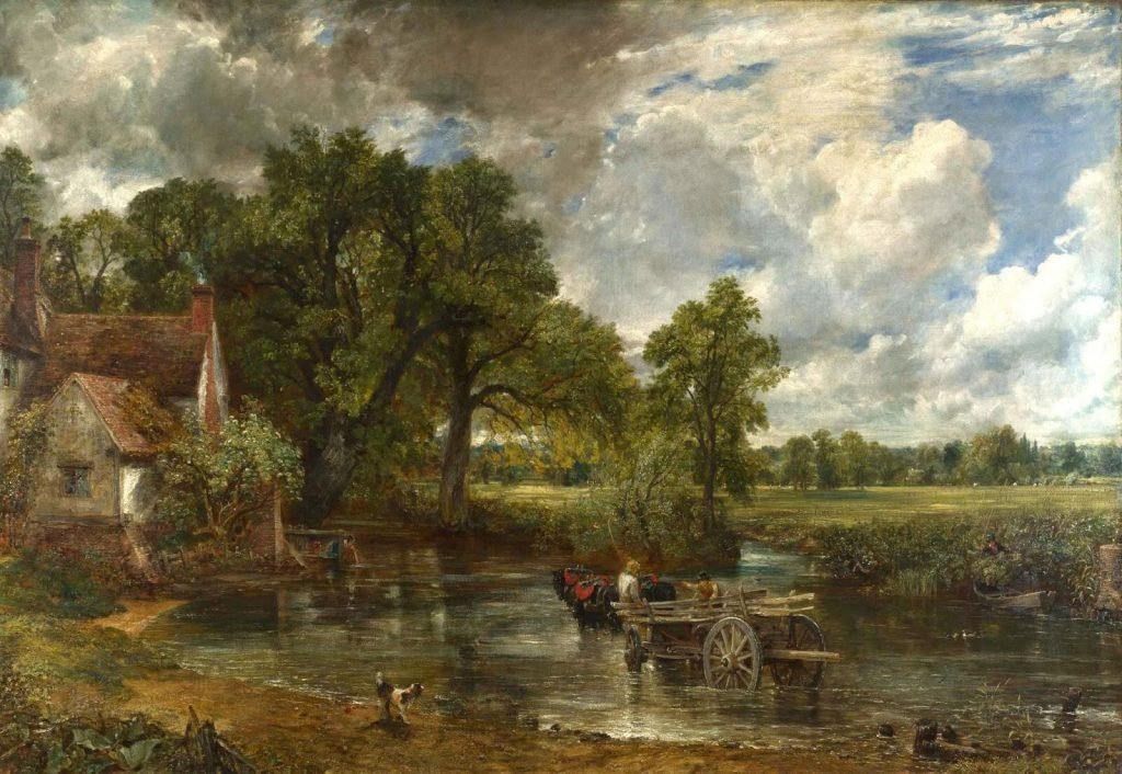 John Constable – The Hay Wain [1821]