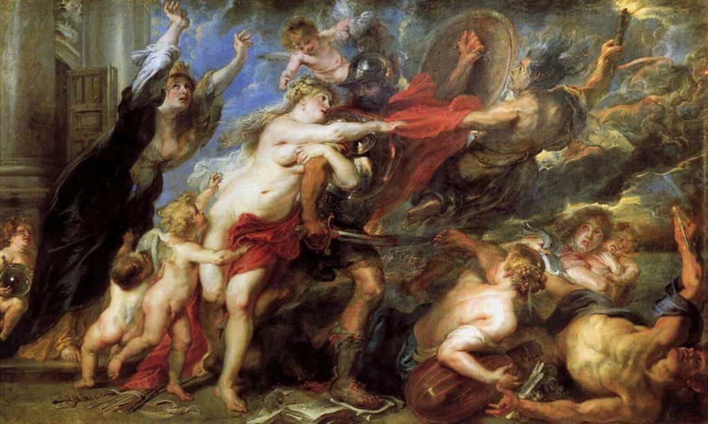 Peter Paul Rubens – The Consequences of War [1638]