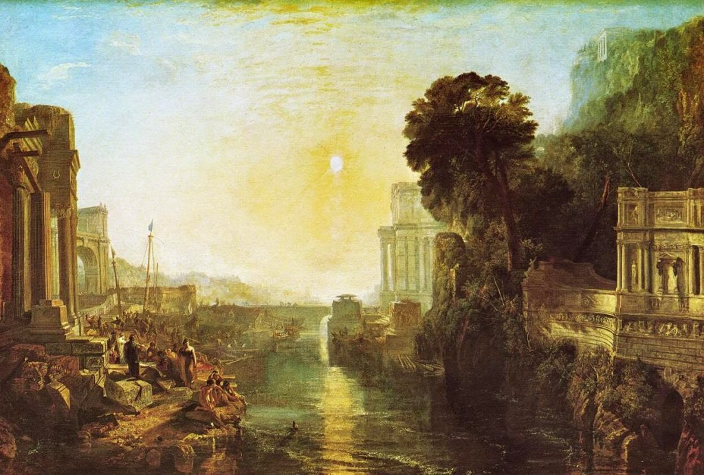 J. M. W. Turner – Dido Building Carthage [1815]