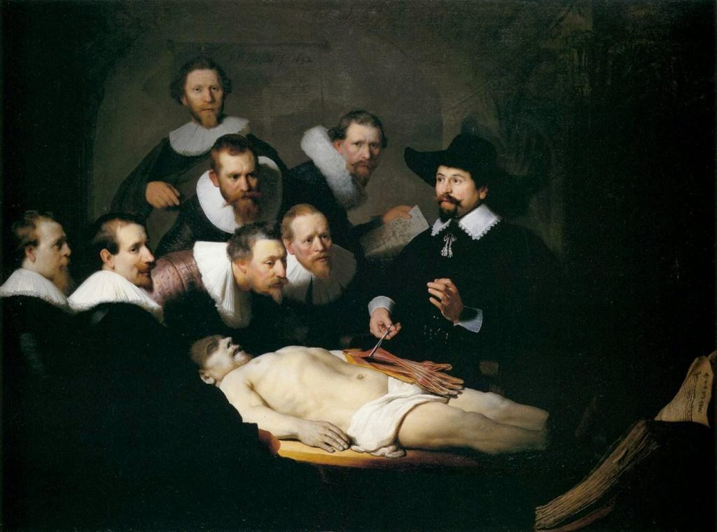 Rembrandt van Rijn – The Anatomy Lesson of Dr. Nicolaes Tulp [1632]