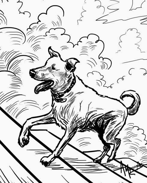 Ο Λουκάνικος στον δρόμο για τον ουρανό - από το Φονικό Κουνέλι