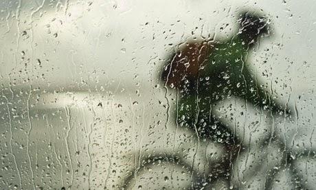 Ποδήλατο στη βροχή