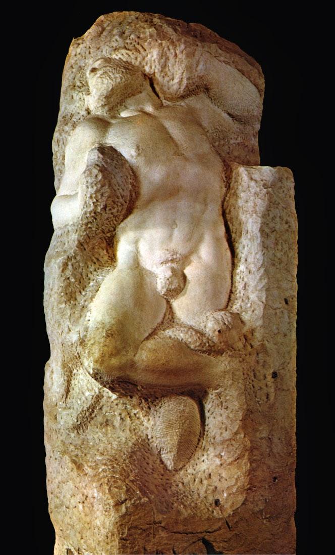 Ο Σκλάβος που Ξυπνά... του Μιχαήλ Άγγελου / Michelangelo - Awakening Slave