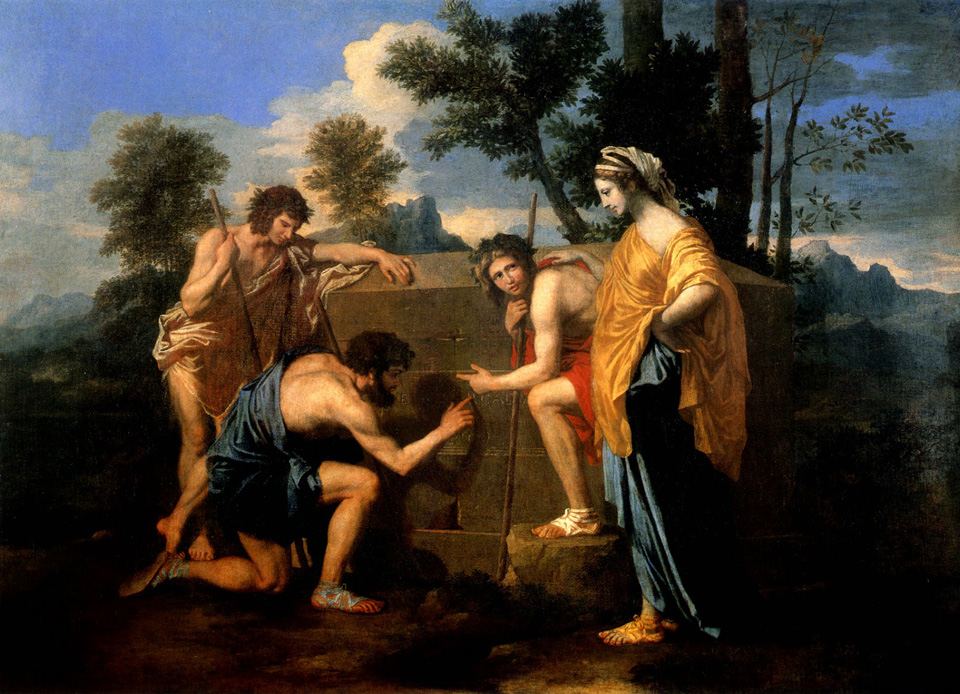 Et in Arcadia ego, 1637–38 painting by Nicolas Poussin