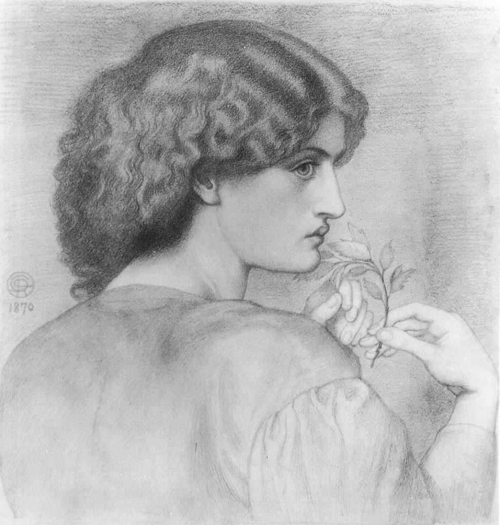 σχέδιο του Rossetti