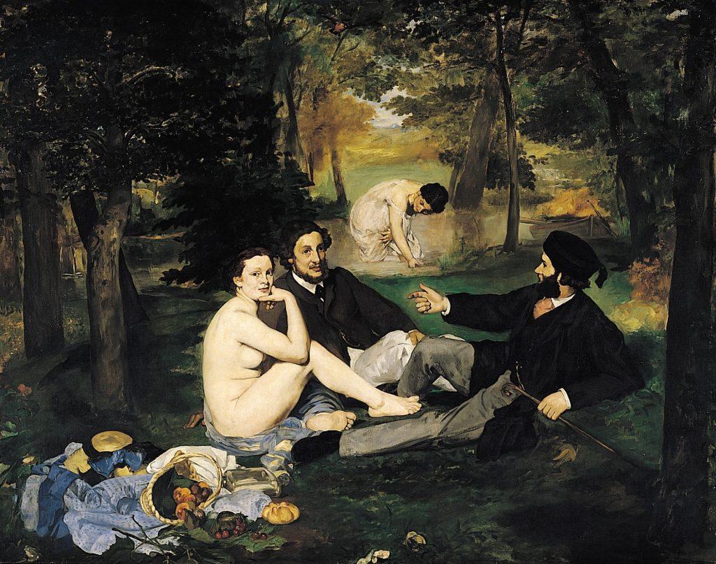 Edouard Manet – Γεύμα στη Χλόη (Le Déjeuner sur l'herbe, 1862-63)
