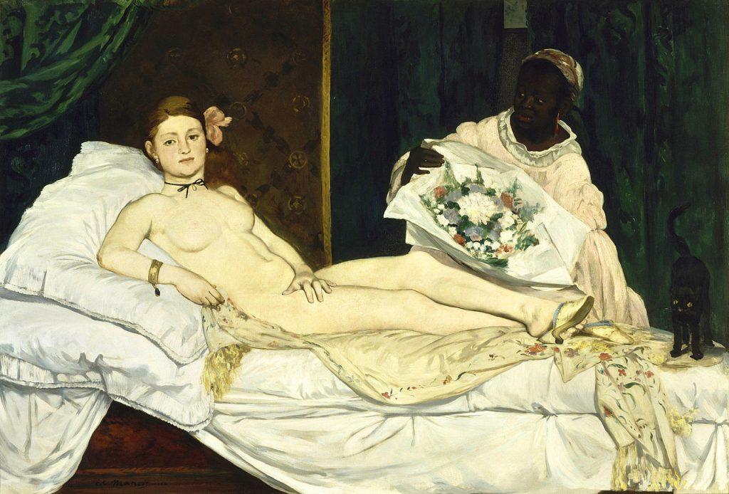 Edouard Manet – Ολυμπία (Olympia, 1863)