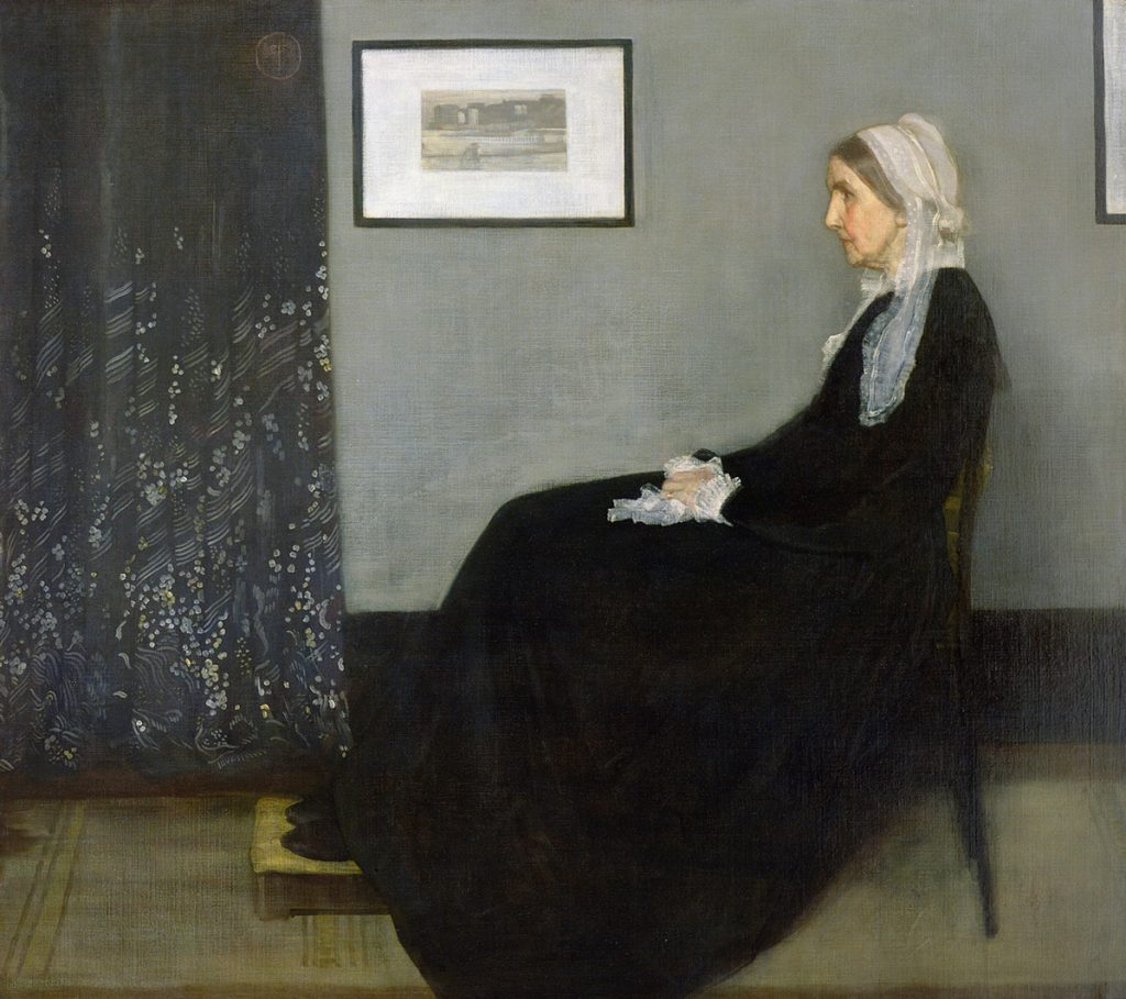 James McNeill Whistler – Arrangement In Grey And Black (1871)