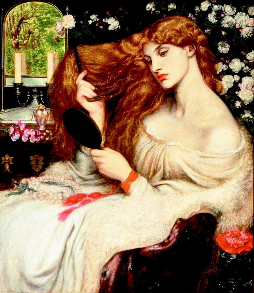 Dante Gabriel Rossetti – Λαίδη Λίλιθ (Lady Lilith, 1868)