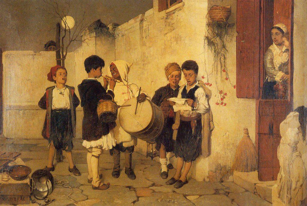 Νικηφόρος Λύτρας – Τα Κάλαντα (1872)