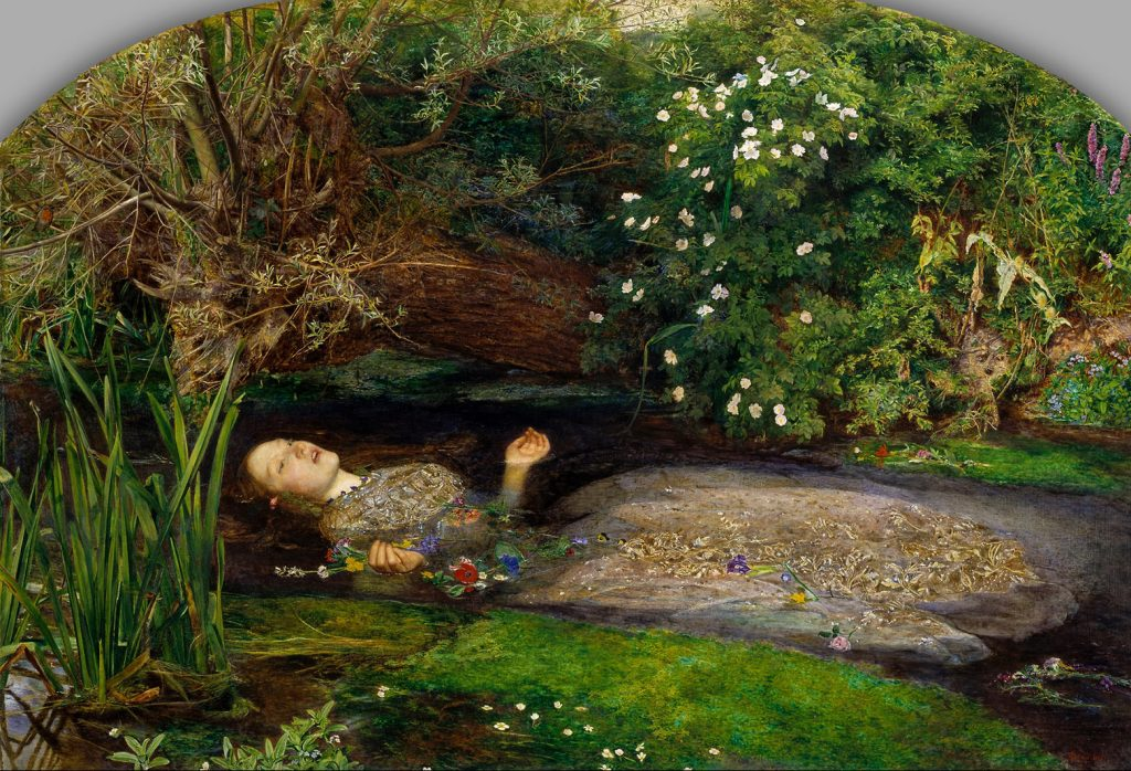 John Everett Millais – Οφηλία (Ophelia, 1851-52)