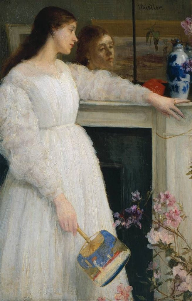 James McNeill Whistler – Symphony In White, No. 2: The Little White Girl (1864)