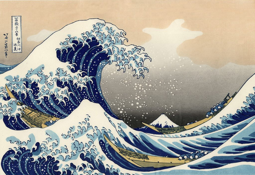 Hokusai Katsushika – The Great Wave (1830)