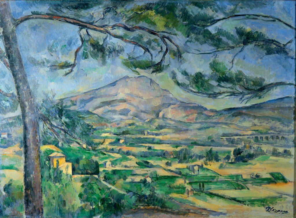 "PaulCezanne– Το Βουνό του Σαν Βικτώρ (""LaMontagneSainteVictoire"", 1885-1906)"