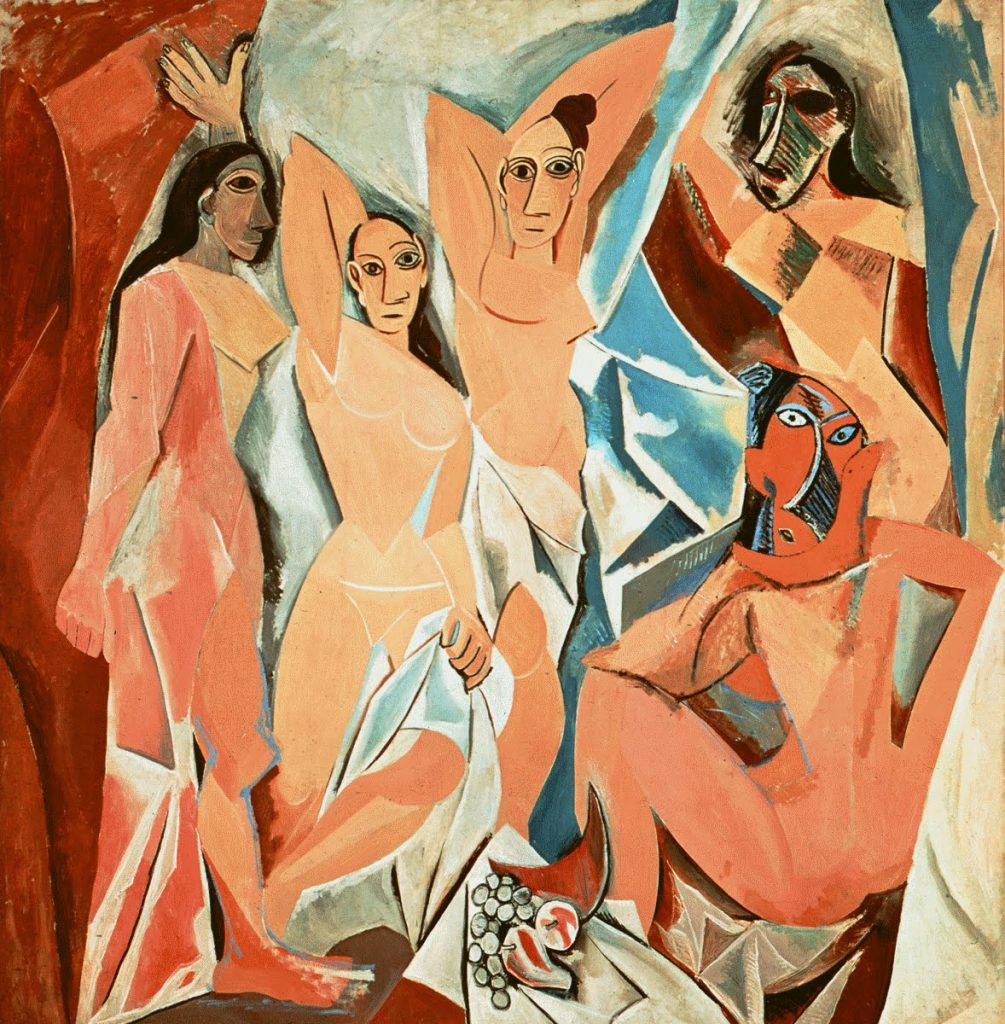 "PabloPicasso– Οι Δεσποινίδες της Αβινιόν (""LesDemoisellesd'Avignon"", 1907)"
