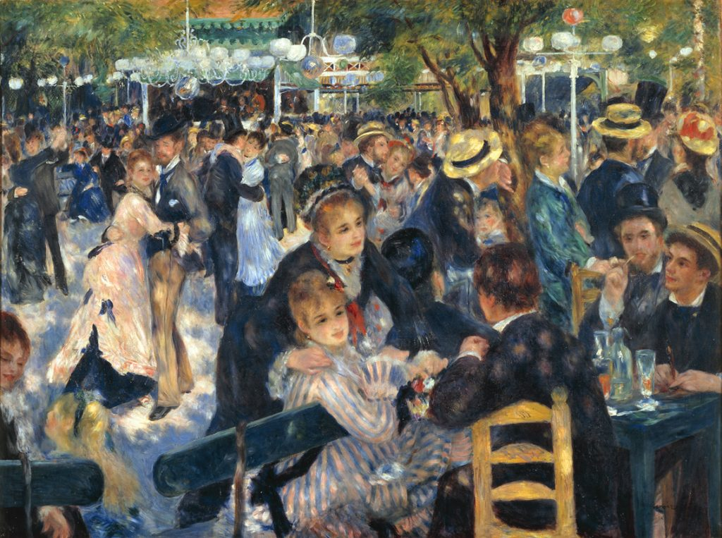 """Pierre-Auguste Renoir –ΧορόςστοΜουλένντελαΓκαλέτ(""""Le Moulin de la Galette"""", 1876)"""