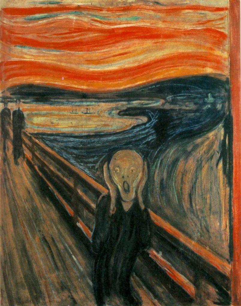 "Edvard Munch –ΗΚραυγή(""The Scream"", 1893)"