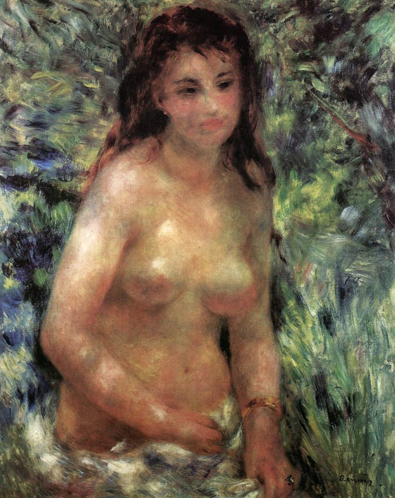 "Pierre-Auguste Renoir – Γυμνό στο Ηλιόφως (""Etude. Torse, effet de soleil"" – ""Nude In The Sunlight"", 1875)"