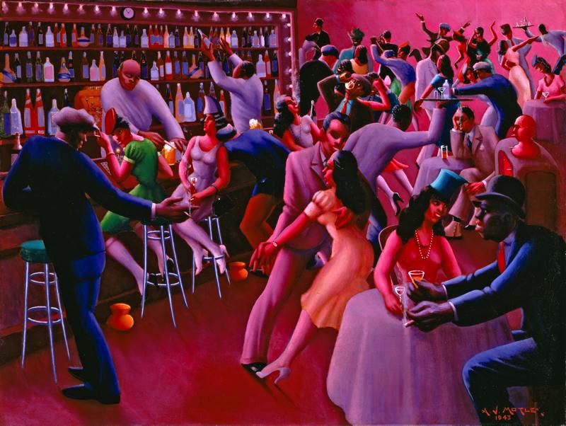 Nightlife by Archibald John Motley, Jr.