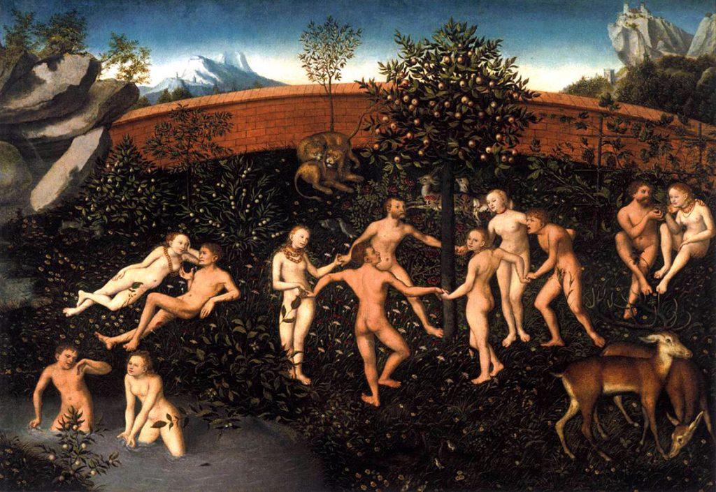 """""""Η Χρυσή Εποχή"""", έργο του Λούκας Κράναχ του Πρεσβύτερου, 1530"""