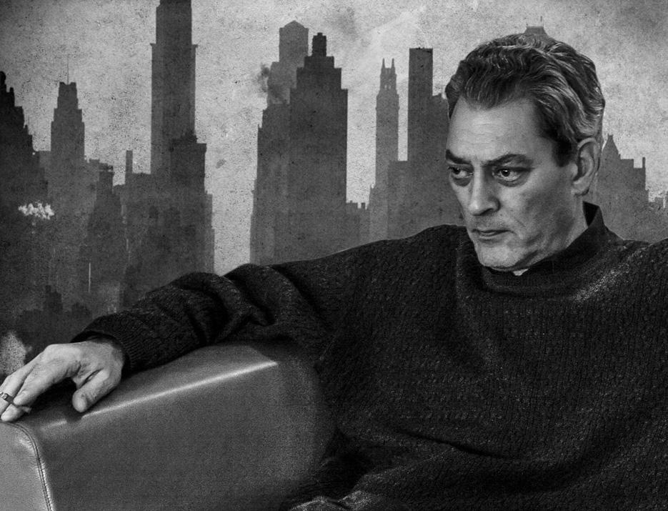 O Πωλ Ώστερ στη Νέα Υόρκη - σύνθεση από το Φονικό Κουνέλι