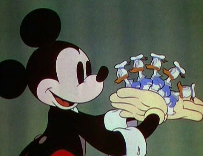 Mickey Mouse magician