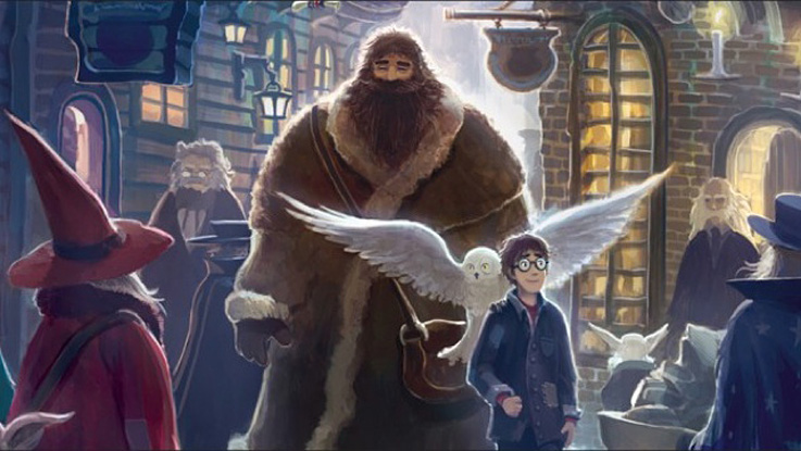 Harry Potter artwork by Kazu Kibuishi